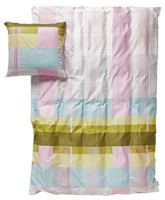 Bettwäsche-Set S&B Colour Block für 2 Personen - 220 x 240 cm, Grün (mit Grün-, Pink- und hellen Blau-Tönen) von Hay finden Sie bei Made In Design, Ihrem Online Shop für Designermöbel, Leuchten und Dekoration.