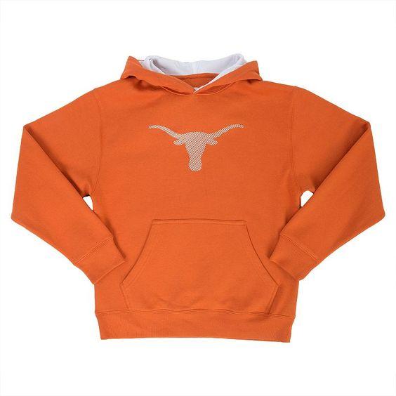 Boys 8-20 Texas Longhorns Hamburg Pullover Hoodie, Boy's, Size: