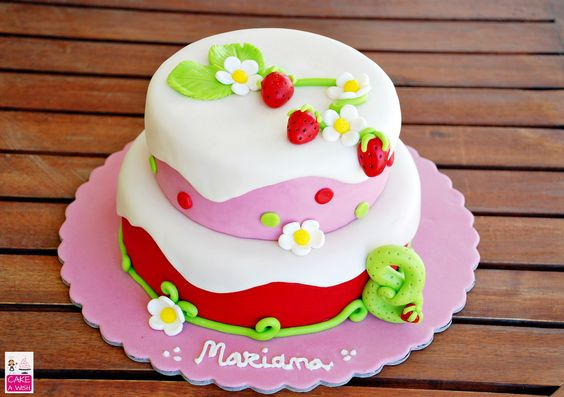 Docinho de Morango #strawberry cake