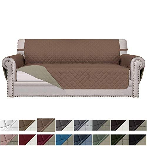 Easy Going Sofa Slipcover Reversible Sofa Cover Water Resistant Couch Cover Furniture Protector In 2020 Couch Covers Sofa Covers Slipcovered Sofa