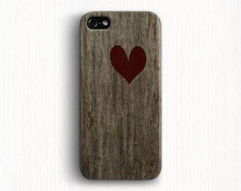 iPhone 6 case  iPhone 4 case iPhone 5 case Love heart  wood case iPhone 5s Case iPhone 4s case iPhone 6 plus case,Galaxy s5 phone case