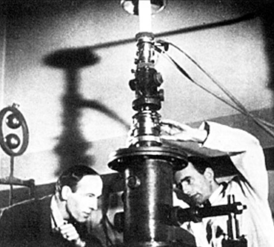 Max Knoll and Ernst Ruska invented the electron microscope in 1931 and proved that using electron beams could reveal images of matter. It allowed people to explain with picture proof what everything in the world was made of.