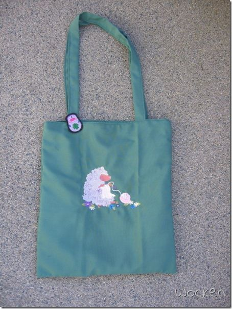 Ratzfatz-Tasche mit Strickschaf