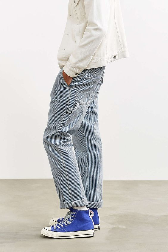Dickies X UO Slim Straight Washed Carpenter Pant - Urban Outfitters