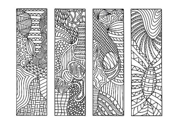 Bookmarks Tribal Drawing Bookmarks Coloring Pages Tribal