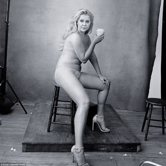 """Amy Schumer and Serena Williams had a major moment posing for the Pirelli calendar. But they're not the first celebs to show off their """"real"""" bodies."""