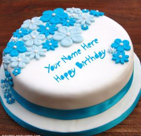 Happy Birthday Cake With Name Edit Online Free Edit