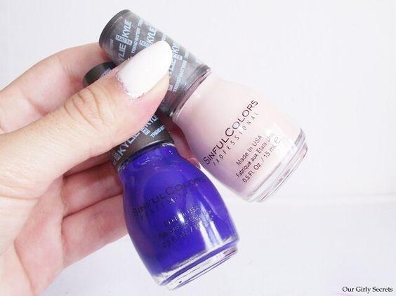 Kylie Jenner collection Sinfulcolors  #nailpolish #nails #polish #sinfulcolors #vernisàongles #blogger #bblogger #bbloggers #beautyblogger #beauté #beauty #mua #makeupjunkie