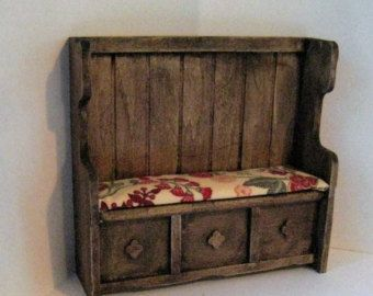 medieval dollhouse furniture - Google Search