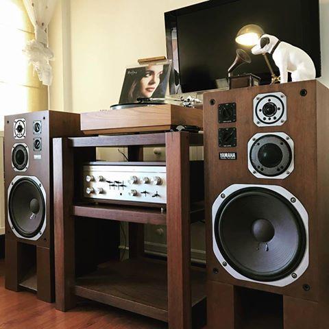 Yamaha Vintage Hifi Room Audiophile Listening Room Audio Room