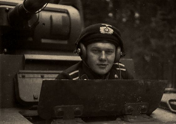 A German tank officer, via Jedem das seine