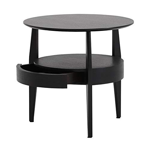 Xbbz Modern Solid Wood Side Table