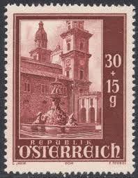 Austria stamp