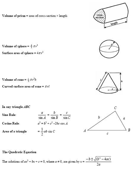 math worksheet : aqa gcse maths formula sheet  google search  revision  : Gcse Maths Revision Worksheets Higher