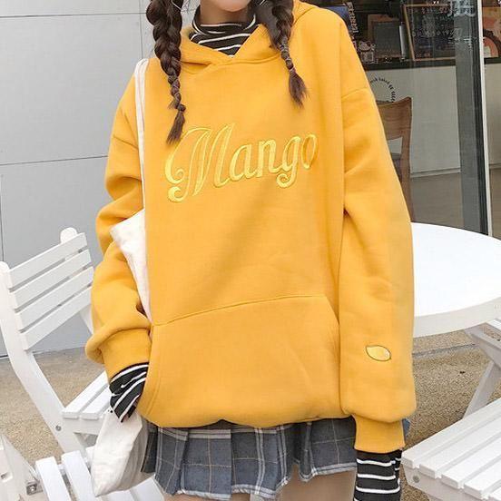 Mango Sweat shirt Orange