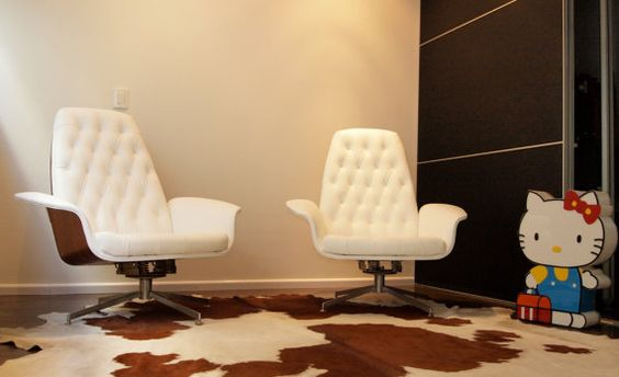 Rare iconic george mulhauser lounge chair by vintagestudiodesign