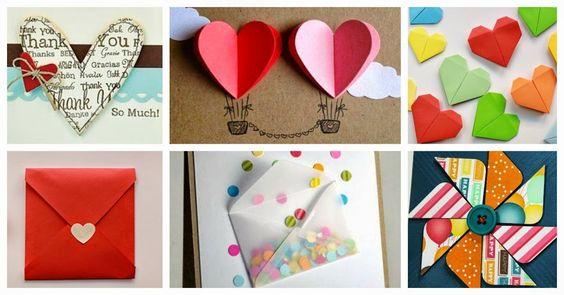 Tarjetas de San Valentín Expess | Aprender manualidades es facilisimo.com