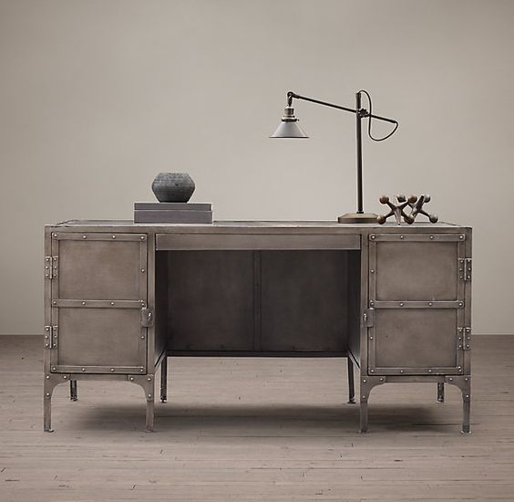 Steam punk hardware and industrial on pinterest for Restoration hardware furniture quality