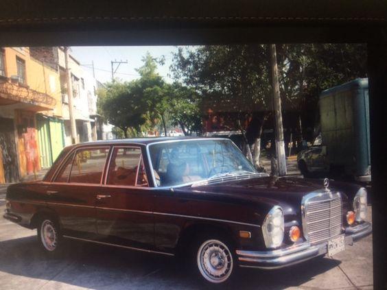 Mercedes Benz  SEL 280 1970 Te imaginas llegar a tu boda en un auto así ? Contacta a: Rolls Royce Mexico   renta@rollsroycemexico.com info@autosantiguos.com.mx renta@unjaguar.com.mx