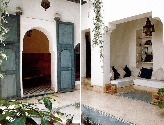 moroccan style | moroccan interior design | outdoors spaces, Innenarchitektur ideen