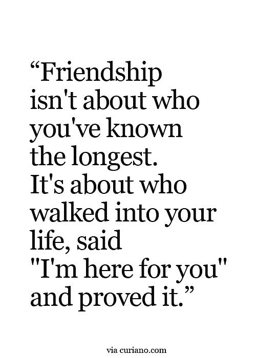 Friendship Deep True Friend Quotes Facts Unexpected Friendship Quotes Friendship Quotes Old Friend Quotes