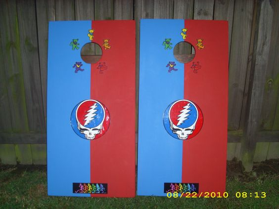 Grateful Dead Cornhole Boards? What the hell are Corn hole boards??! Somebody?