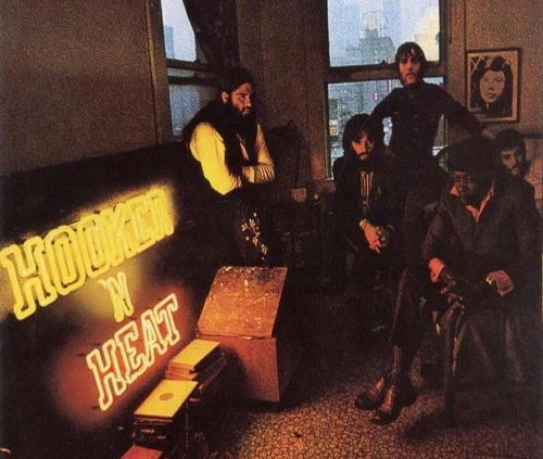 """Released on January 15, 1971, """"Hooker 'n Heat"""" is a double album by John Lee Hooker and blues-rock band Canned Heat. It was the last studio album to feature Alan Wilson whose  picture can be seen in a frame on the wall behind John Lee Hooker on the cover. TODAY in LA COLLECTION on RVJ >> http://go.rvj.pm/9q2"""