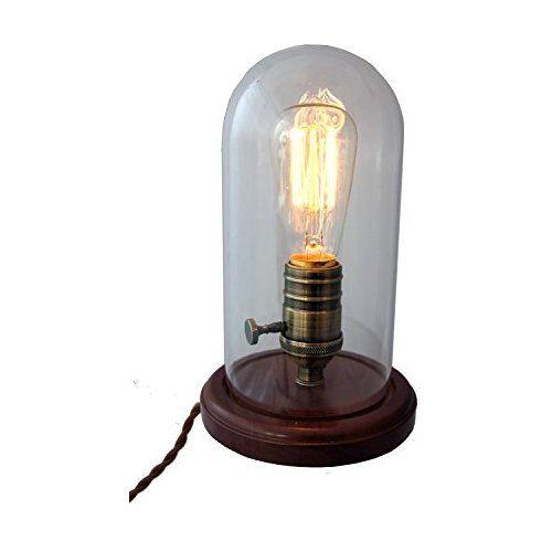 Purelume Nostalgie Edison Tischlampe Mit Retro 25w Gluhbirne Vintage Tischlampen Gluhbirne Lampe