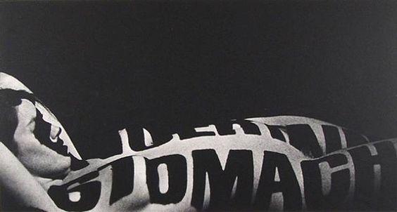 Robert Heinecken, Typographic Nude, 1965