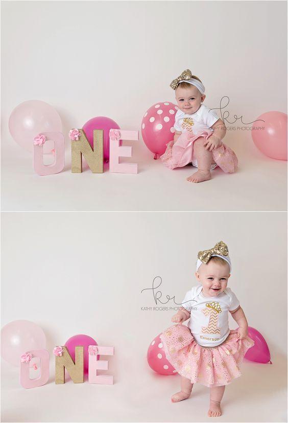 Baby S 1st Birthday Photography Ideas Firstbirthdaygirl Erster