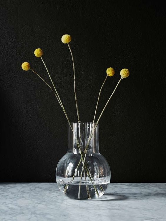 Skruf Glassworks Pallo Vase Junior: