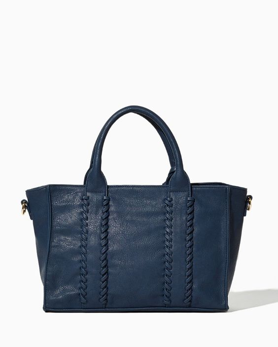 Whipstitch Tassel Tote | Fashion Handbags & Purses | charming charlie