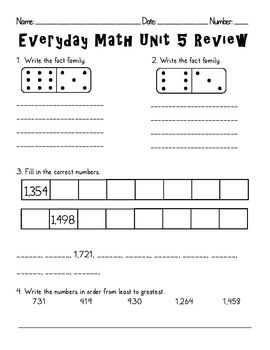 math worksheet : 1000 images about second grade math on pinterest  math second  : Everyday Math Grade 5 Worksheets