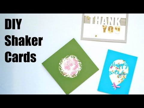 Diy Shaker Cards Domestic Heights Shaker Cards Shaker Cards Tutorial Cards