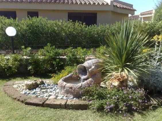 Come creare un giardino roccioso laghetto con anfora - Costruire giardino roccioso ...