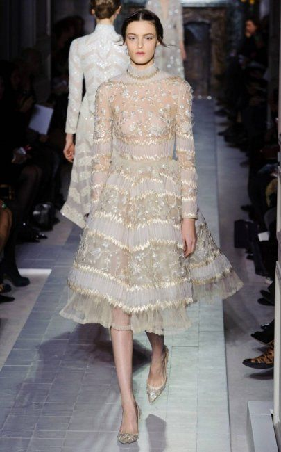 Valentino Spring '13. These dresses are simply stunning. Great inspiration for brides and bridesmaids.