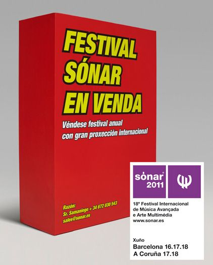Sónar Galicia 2011 en A Coruña+ Que alegría que este año también decidan celebrar el Sónar  (Festival Internnacional de Música Avanz...