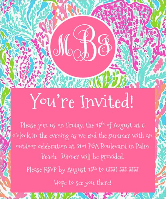 Colors, Lilly pulitzer and Monograms on Pinterest