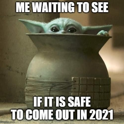 Pin By Paige Cassler On Baby Yoda And The Mandalorian Funny Star Wars Memes Yoda Funny Yoda Meme