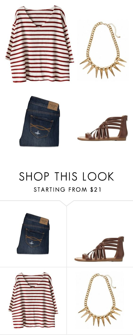 """""""Outfit Idea by Polyvore Remix"""" by polyvore-remix ❤ liked on Polyvore featuring Abercrombie & Fitch and Charlotte Russe"""