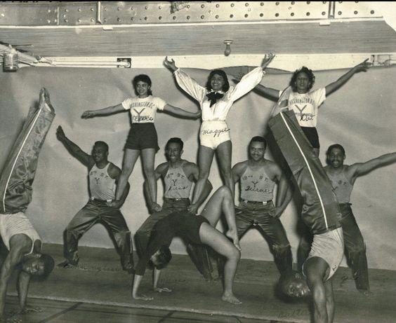 Acrobats at the Y, Washington, D.C., 1940s