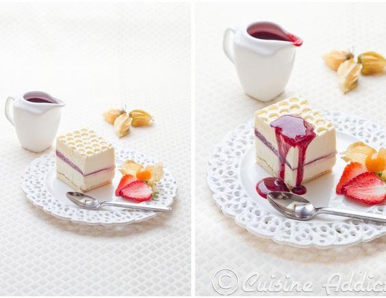 crémeux yaourt, chocolat blanc, sabayon mascarpone & framboise