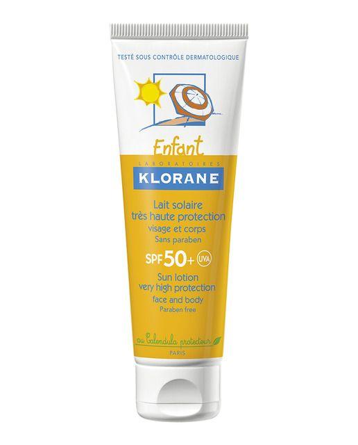 Klorane Crema Solar Hidratante Spf 50 Bebe Klorane En 2020