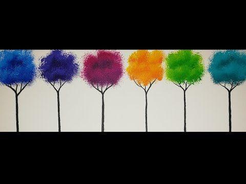 Youtube Peintures Acryliques Faciles Peinture Acrylique