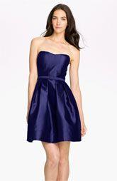 Eliza J Sweetheart Neckline Fit & Flare Dress