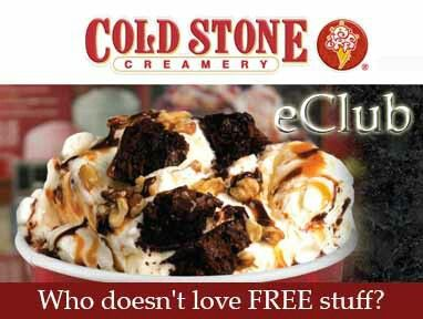 $3 OFF an Ice Cream Cake for your birthday!! Join the eClub-Cold Stone Creamery! Free stuff and coupons.
