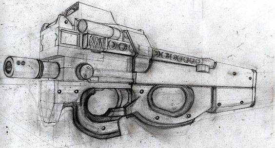 gun by crazyhorse42