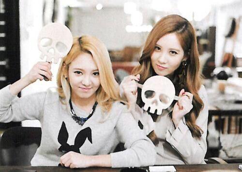 Hyoyeon & Seohyun <3