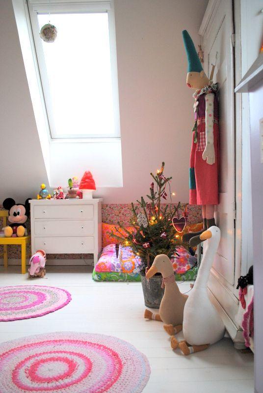 slaapkamer kind kerst