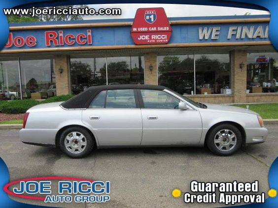 2003 Cadillac DeVille Detroit, MI | Used Cars Loan By Phone: 313-214-2761